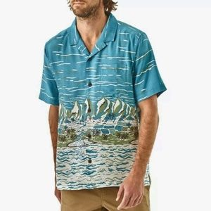 Patagonia Mens XS Hawaiian Shirt Pataloha Ltd